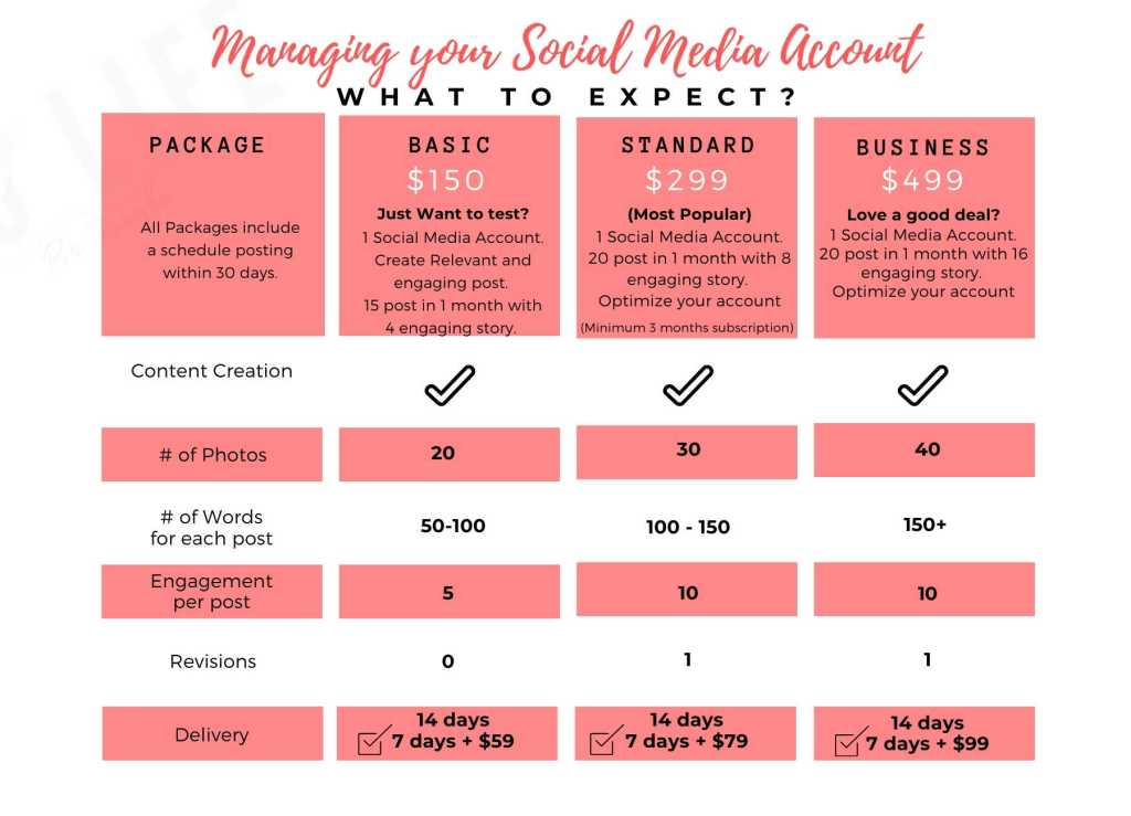 Social Media Management service offered by Hello Life