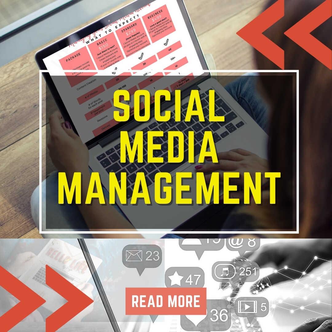 Social Media Management hello life